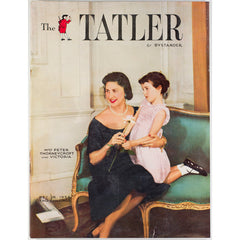 Christmas Mrs Peter Thorneycroft The Tatler Magazine 26th December 1956