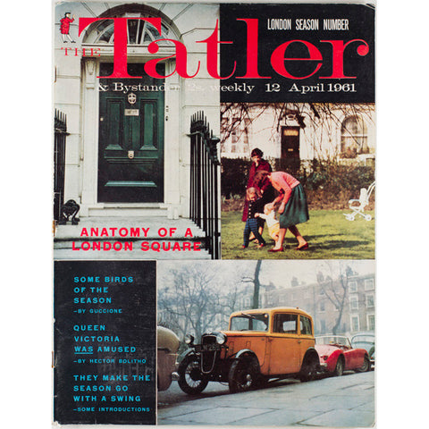 Anatomy of a London Square The Tatler Magazine 12th April 1961