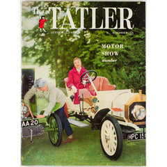 Motor Show Special Vintage Car The Tatler 22nd October 1958