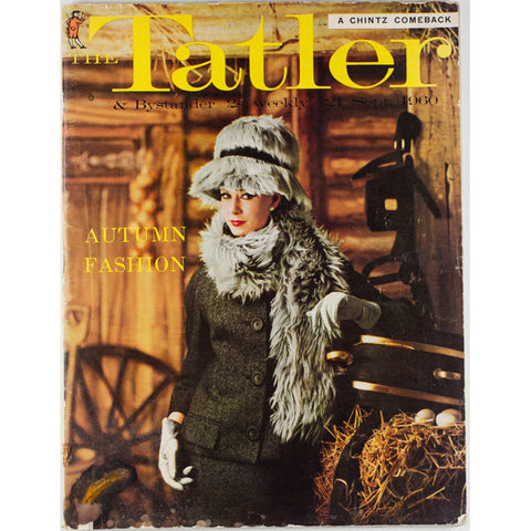 A Chintz Comeback The Tatler 21st September 1960