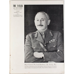 Major General The Lord Burnham WWII Tatler UK 31st October 1945