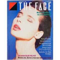 Isabella Rossellini Blue Velvet David Lynch The Face February 1987