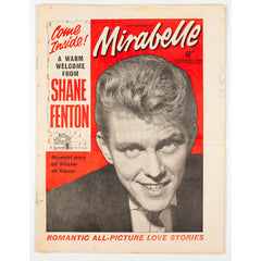 Shane Fenton Mirabelle teen music magazine August 1962