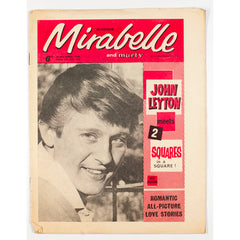 John Leyton Squares Mirabelle teen and music Magazine April 1963