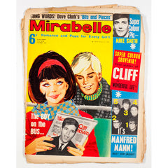 Dave Clark Cliff Richard Manfred Mann Mirabelle teen magazine 1964