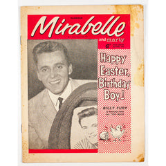 Billy Fury Mirabelle teen Magazine  April 1963