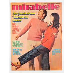 Peter Green Fleetwood Mac Mirabelle freaked out teen Magazine 1969