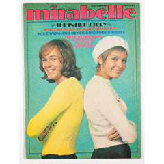 Mike D'Abo the inside story Beret Mirabelle teen Magazine October 1969