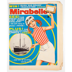 Swinging Radio Caroline England cover Mirabelle magazine Summer August 1966 Press Gang