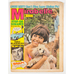 Tony Blackburn Not just a DJ Mirabelle teen Magazine 1967