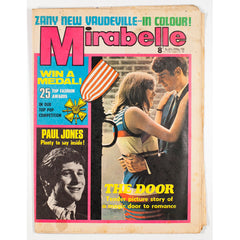Paul Jones Vaudeville Mirabelle teen Magazine October 1967