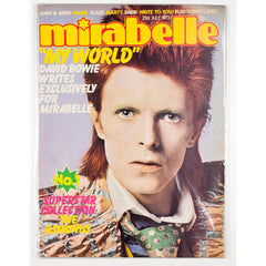 David Bowie  'My World' Mirabelle magazine 1973