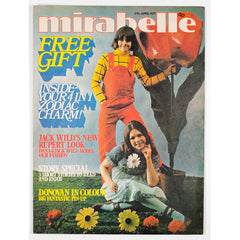 Jack Wild as Rupert The Bear Donovan Mirabelle teen Magazine 1971