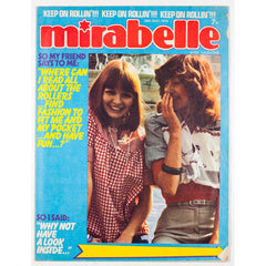 The Bay City Rollers Mirabelle 1970's teen magazine July 1975