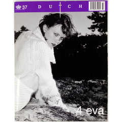 Dutch Magazine January No 37 2002 Eva Herzigova '4 eva' Sandor Lubbe