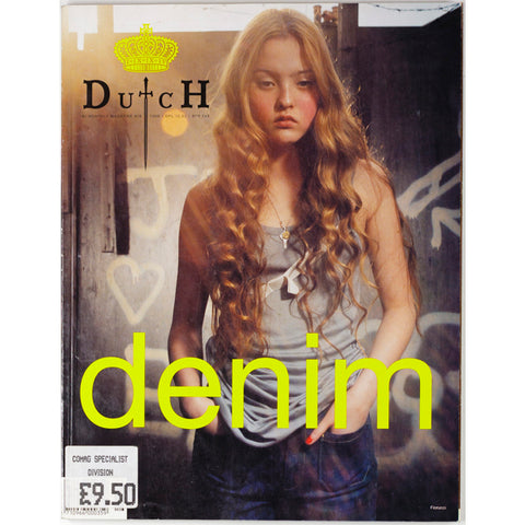 Dutch Magazine no.16 1998 Devon Aoki Sonia Rykiel Denim Venetia Scott Mapplethorpe