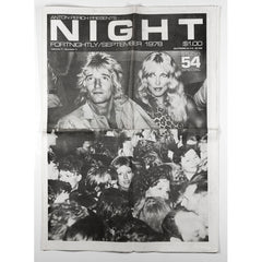 Rod Stewart Studio 54 special NIGHT Magazine 1st Issue 1978
