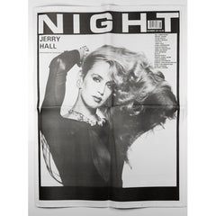 Jerry Hall by David Bailey NIGHT Magazine No 26 1995