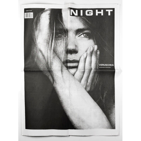 Veruschka by Steven Meisel NIGHT Magazine No 30 1996