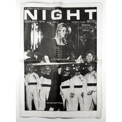 Catherine Deneuve Regine's Issue Devo NIGHT Magazine 1978