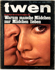 TWEN German Mens magazine Classic Design June 1965