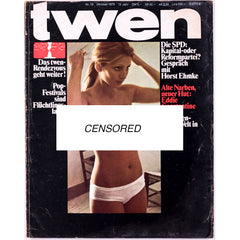TWEN German Mens magazine Classic Design October 1970