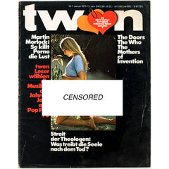 TWEN German Mens magazine Classic Design January 1970