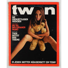 TWEN German Mens magazine Classic Design May 1968