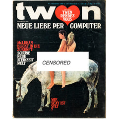 TWEN German Mens magazine Classic Design September 1968