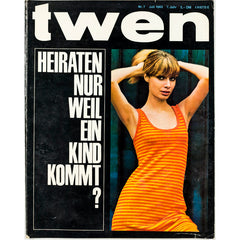 TWEN German Mens magazine Classic Design July 1965