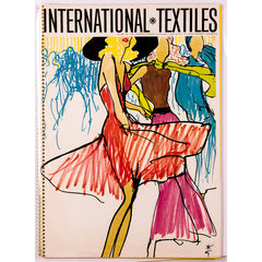International Textiles Number 480 1971 Rene Gruau RARE