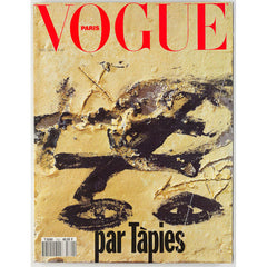 Antoni Tapies edits Paris Vogue Christmas Issue Claude Picasso Very Rare