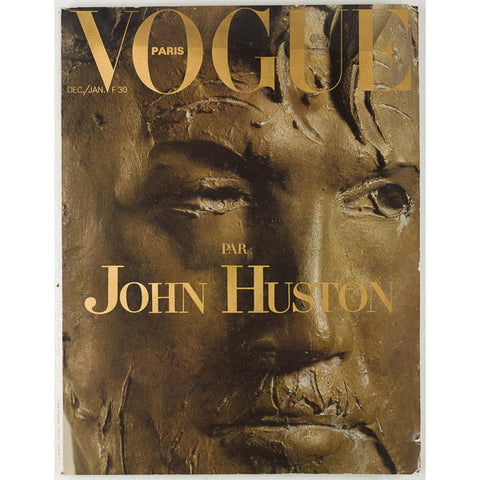 Vogue Paris Christmas Issue edited by John Huston
