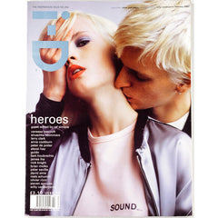 Heroes Larry Clark David Sims Nick Knight I-D Magazine February 2001