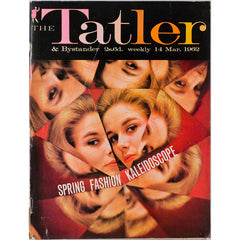 Broken Mirror cover Tatler Magazine 14th March 1962