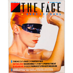 Annie Lennox Masked Fiorucci Jamie Reid Eno The Face October 1983