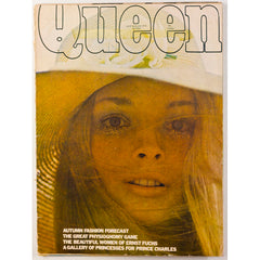 Queen magazine Late August 1970 Hans Feurer Tweed Twiggy Mary Quant Ernst Fuchs Caroline Arber