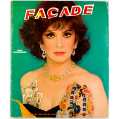 Facade Magazine Issue Number 10 Gina Lollobrigada Karl Lagerfeld