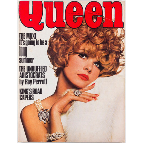 Queen Magazine 13th March 1968 Clive Arrowsmith Kings Road David Anthony