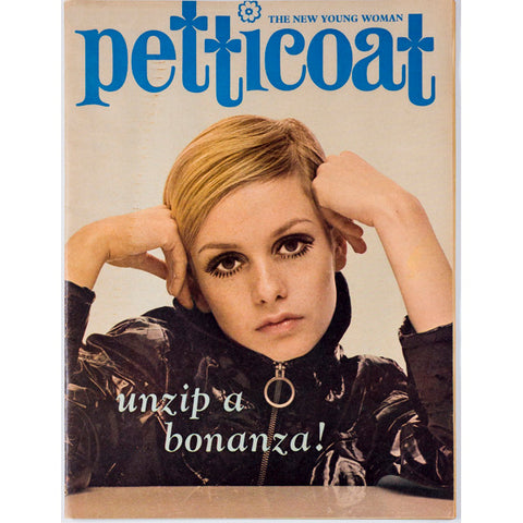 Twiggy on the cover Petticoat Magazine 28th January 1967