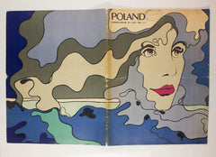 POLAND Number 4 (164) Illustrated Magazine Roman Cieslewicz Rare