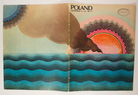 POLAND Number 1 (161) Illustrated Magazine Rare Stanislaw Zagorski