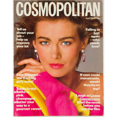 Debra Winger Sam Shepard Cosmopolitan magazine April 1984