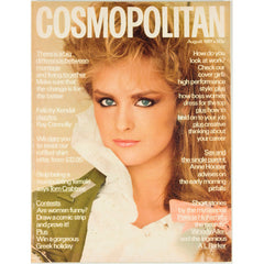 Patricia Highsmith Woody Felicity Kendal Allen Cosmopolitan Magazine August 1981