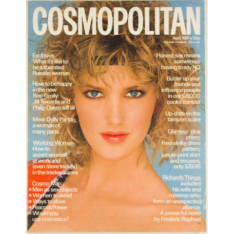 Meet Dolly Parton Cosmopolitan magazine April 1981 Dolly Parton