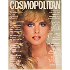 Kim Alexis Barry Humphries Garbo UK Cosmopolitan magazine October 1980