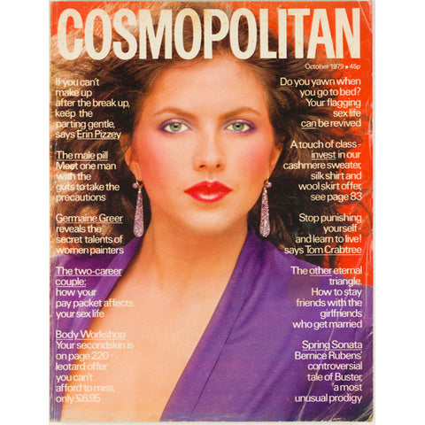 Germaine Greer on Women Painters Cosmopolitan Magazine October 1979