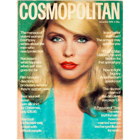 Cosmopolitan with Debbie Harry Blondie Terence Donovan