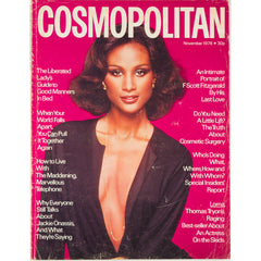 Beverly Johnson F Scott Fitzgerald Cosmopolitan Magazine November 1976