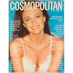 Jacqueline Bisset Warren Beatty Cosmopolitan Magazine February 1975